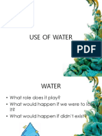 Use of Water
