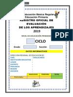 Registro Oficial 2019