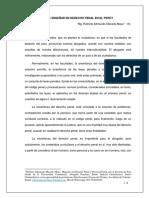 Que Enseñar en Derecho Penal en El Peru