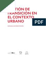 Gestión de Transición en El Contexto Urbano - Manual de Orientación