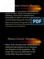 3 Human Genetic Disorders