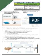 Evaluación Física 11 ONDAS