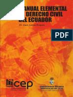 Manual Elemental de Derecho Civil Ecuatoriano Tomo 4