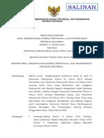 PermenDesaPDTT Nomor 11 Tahun 2019 Ttg Prioritas Penggunaan Dana Desa Tahun 2020 (Salinan)