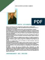 Vida y Obra de Jose Faustino Sanchez Carrion