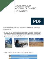 Marco Juridico Internacional de Cambio Climatico