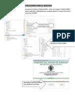 Instructivo Generar y Operar Sistema Maestros Primaria 1819