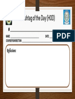 Hashtag of the Day (Hod) Template
