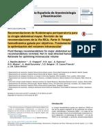 Fluidoterapia en Cirugia Abdominal Mayor Parte 2