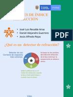 Detectores de Refraccion Exposicion
