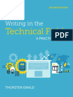 Writing in the Technical Fields a Practical Guide