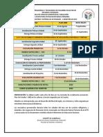 Calendario II Sem 2019 Lic. Primaria (1)