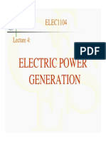 4-Electric Power Generation