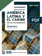 EnergIas Renovables Para AmErica Latina y El Caribe Caso Honduras