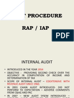 Audit Procedure