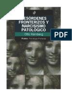 Otto F. Kernberg - 1975 - Desórdenes Fronterizos y Narcisismo Patológico