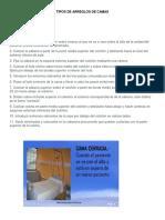 TIPOS DE ARREGLOS DE CAMAS.docx