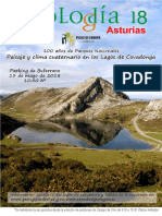 Geologuía Los Lagos de Covadonga