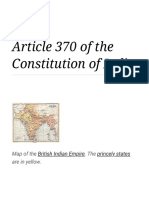Article 370 of the Constitution of India - Wikipedia