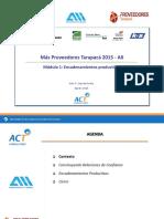 Modulo 1 MPT2015 Encadenamientos Productivos 28.08.15
