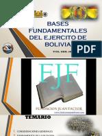 Bases Fundamentales Del Ejercito de Bolivia (1)
