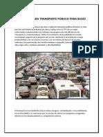 Trabajo- Transporte Publico