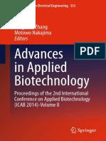 2015 Book AdvancesInAppliedBiotechnology