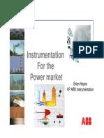 Instrumentation power market