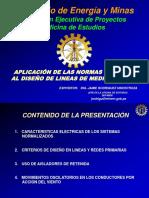 Aplic. N.T. Dis. Linea Media Tensión (2)