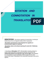 Denotation and connotation 5 examples of sexual harassment