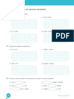 Guía números decimales 6°