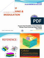 Modul 8-10 ELA193_Multiplexing&Modulation