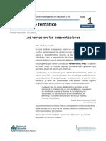 Presentaciones en PowerPoint y Prezi. 2