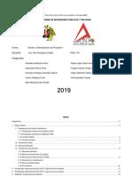Informe Presupuesto Institucional de La Provincia de Trujillo