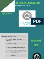 Leed green associate chapter one