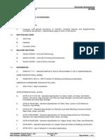 Concrete Specifications 031500 Concrete Accessories IFC
