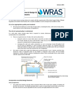 Info Note Cold Water Service Storage Cisterns