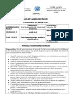 Minusma-l-087-18 Un e Conducteur Trice de Poids Lourd Ambulancier Gl-3 Tombouctou