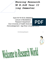 Overview of Nursing Research Arif