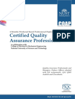 Certified Quality Assurance Professional