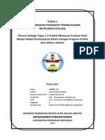 Tugas 1.5. Praktik Evaluasi - JUNED