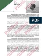 Carta abierta de Francisco Estacio Mejías