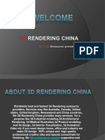 3D modeling China,3D Product Rendering China and 3d rendering services