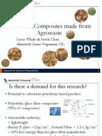 Biobased biocomposites