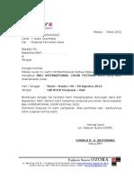 Surat Pencarian Dana