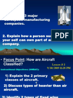 Aircraft Classifications