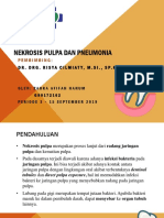 Nekrosis pulpa dan pneumonia
