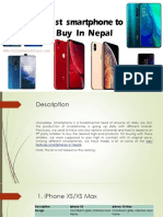 Best Smartphone to Buy in Nepal