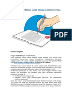 Cara Mengidentifikasi Tanda Tangan Elektronik Palsu