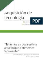 Adquisición de Tecnología (1)
